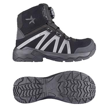 Snickers SG81006 Solid Gear S3 Onyx Mid Black Safety Boots