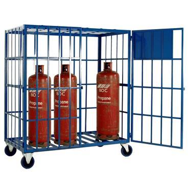 Citec Gas Cylinder Storage Cage