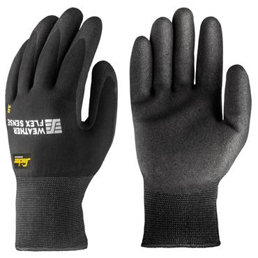 Snickers 9319 Black Weather Flex Sense Gloves