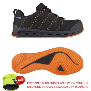 Snickers SG77001 Solid Gear One Gore-Tex S3 Black Safety Trainers