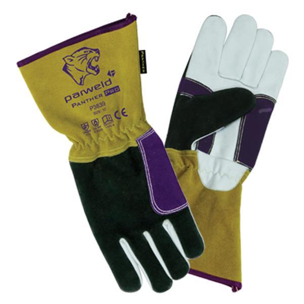 Parweld TIG Welding Gauntlet  Finger Tip Sensitivity P3835