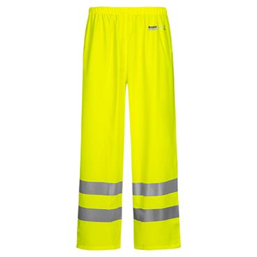 LYNGSOE LR52 Hi Vis Rainwear Trousers Yellow