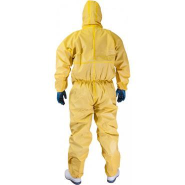 Chemsplash Jet Spray Type 3B&4B Coverall Yellow