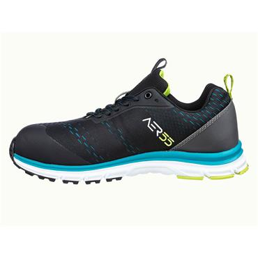 ALBATROS AER55 Impulse Low S1P ESD Blue/Black Safety Trainers