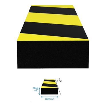 DuraStripe Rectangular Surface Bumper Guard