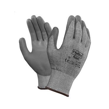 Ansell HyFlex 11-627 Coated Dipped Dyneema HPPE and LYCRA Lined Gloves - Cut Level A2