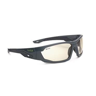 Bolle MERCSP Bi-material frame PC + TPR Grey & Black CSP PC Lens
