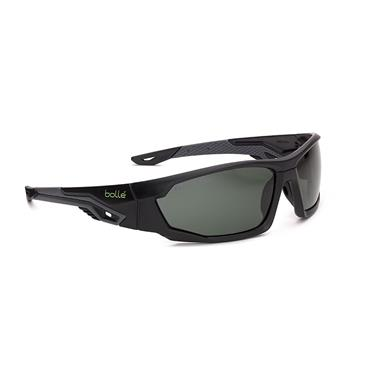Bolle MERPOL Bi-material frame PC + TPR Grey & Black, Polarized Lens