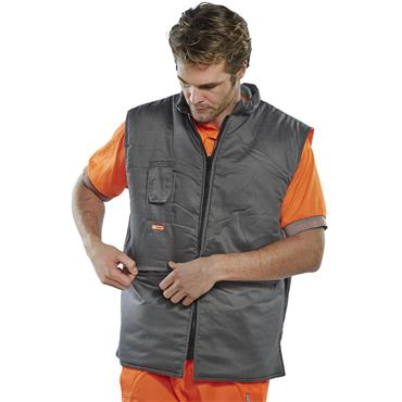 CITEC BWENG High-Visibility Reversible Bodywarmer - Orange