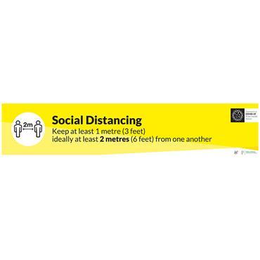 Citec Social Distancing Anti Slip Floor Graphics Signs