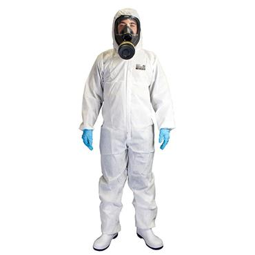 CHEMSPLASH 2503 Xtreme SMS50 AS Anti-Static Coverall Type 5/6 White