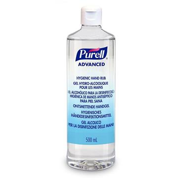 PURELL Advanced Hygienic Hand Sanitiser 500ml with flip cap