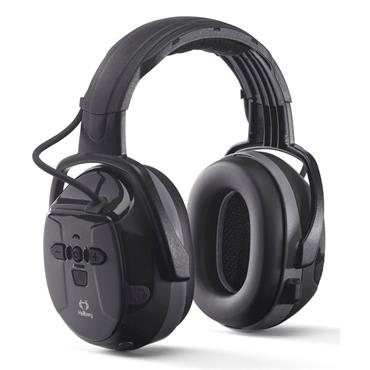 Hellberg 48000-001 Xstream Earmuffs with Bluetooth, Black