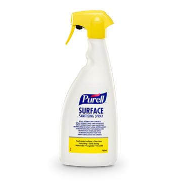 PURELL® Surface Sanitising Spray, 750ml bottle, Case of 6