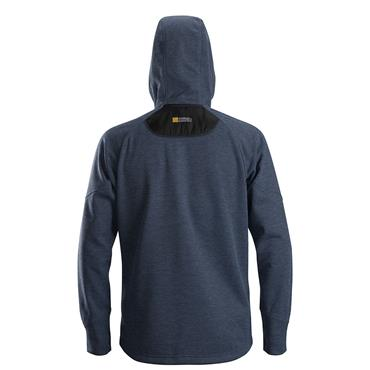 Snickers 8041 FlexiWork Fleece Hoodie - Navy
