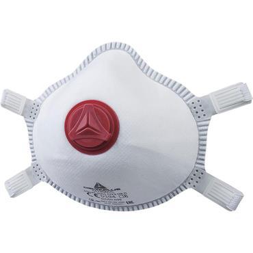 Delta Plus M1300V FFP3 with Valve Moulded Disposable Half Mask, Pack of 5