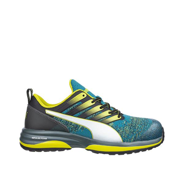 PUMA Charge Green Low S1P ESD HRO SRC Safety Trainers 3/36