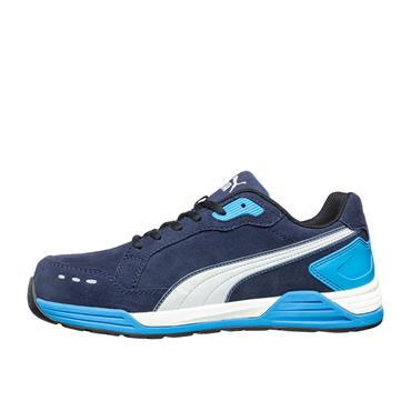 PUMA Airtwist Blue Low S3 ESD HRO SRC Safety Trainers