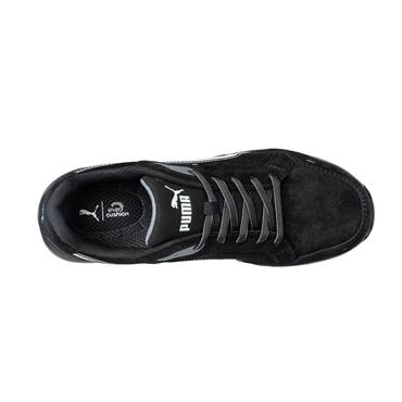 PUMA Airtwist Black Low S3 ESD HRO SRC Safety Trainers