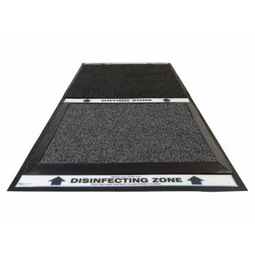 """NO TRACK 355 Shoe Sanitizing & Drying Mat System 2-Zone, 25.5""""W x 52.5""""L"""