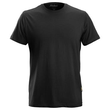 SNICKERS 2502 Classic T-Shirt - Black