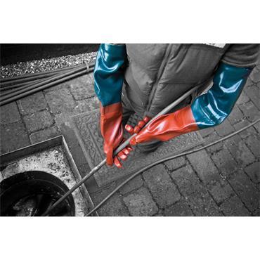 POLYCO 3413 Long John 64cm Chemical Resistant Gloves, Size 9.5