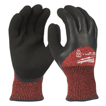 MILWAUKEE Winter Cut Level 3C Dipped Gloves