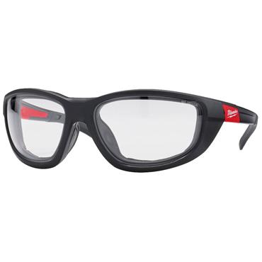 MILWAUKEE 4932471885 Premium Safety Glasses with Gasket, Clear