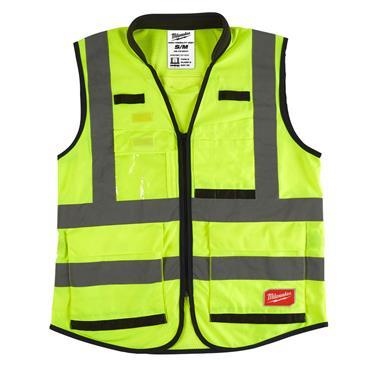 MILWAUKEE Premium Hi-Visibility Vest, Yellow