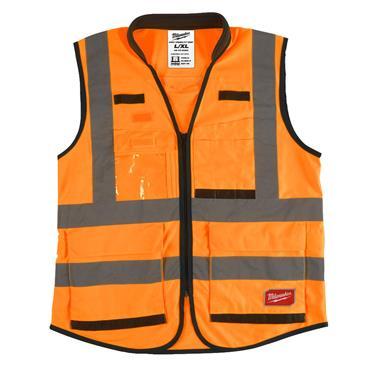 MILWAUKEE Premium Hi-Visibility Vest, Orange