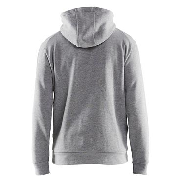 BLAKLADER 35301158 3D Hoodiel, Grey