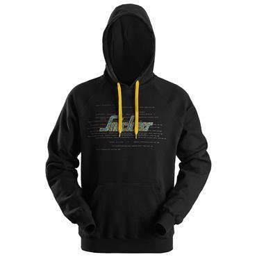 SNICKERS WORKWEAR AWC 2800 0400 Logo Hoodie, Black