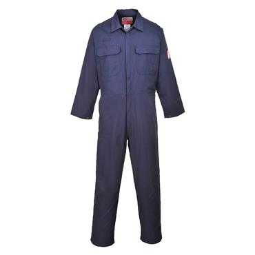 PORTWEST FR38NAR Bizflame Pro Coverall,  Navy
