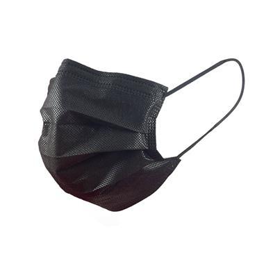 ASAP Medical Face Masks, Box of 50, Black