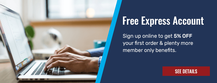 Sign up for a free express online account